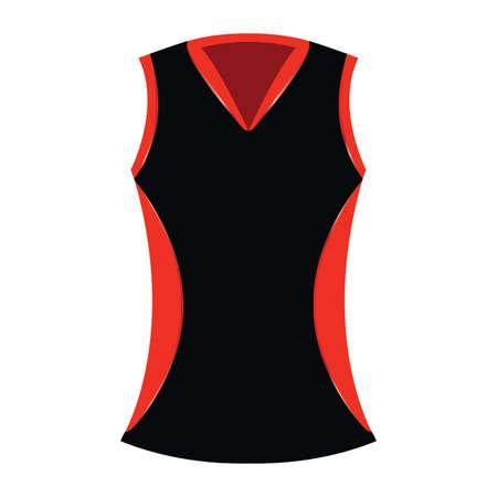 Abstract sport cloth Illusztráció