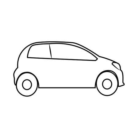 Abstract Transportation Object Stock Illustratie