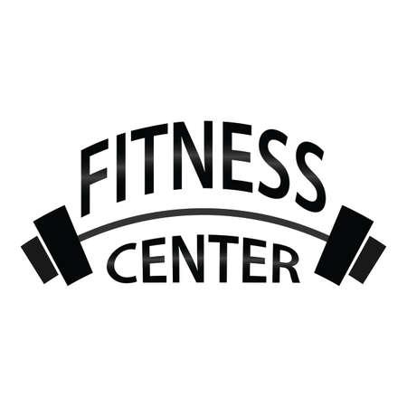 Fitness center icon