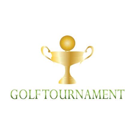 Golf Tournament label