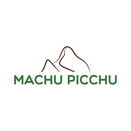 Machu picchu background 向量圖像