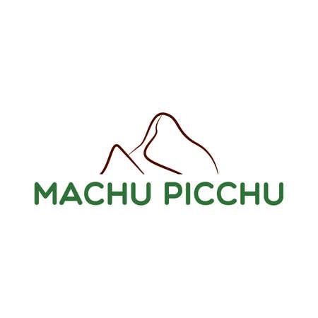 Machu picchu background Illustration