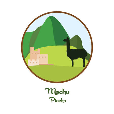 Fond de Machu Picchu Vecteurs