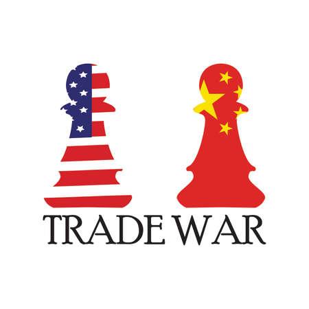 Sfondo di guerra commerciale