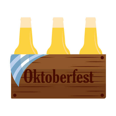 Oktoberfest background with some allusive special objects