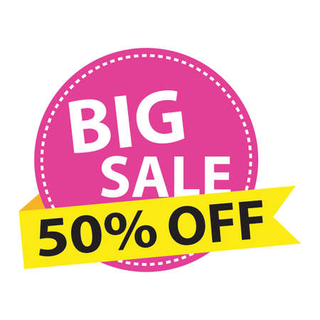 special big sale label. Vactor illustration design