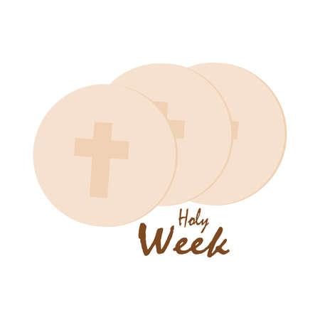 Holy week background Standard-Bild - 119782802