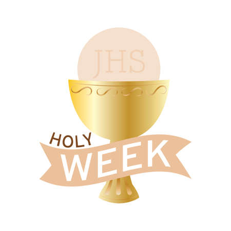 Holy week background Standard-Bild - 119782804