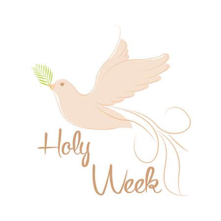 Holy week background Standard-Bild - 119782812
