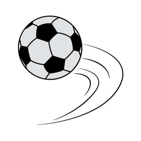 abstrakcyjny sprzęt treningowy do piłki nożnej