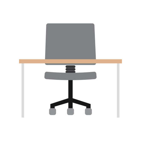 abstract office object on a white background, vector illustration design