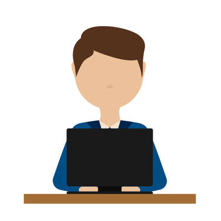 Abstract system engineer Illustration