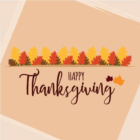 Thanksgiving poster with text - VEctor illustration design Illusztráció