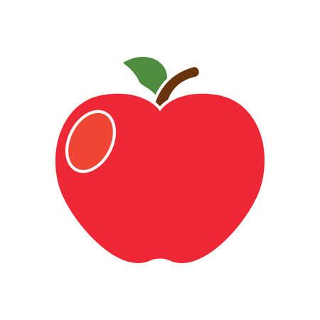 Isolated apple icon. Thanksgiving season - Vector illustration design