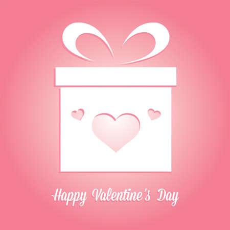 Happy valentine day card - Vector illustration design