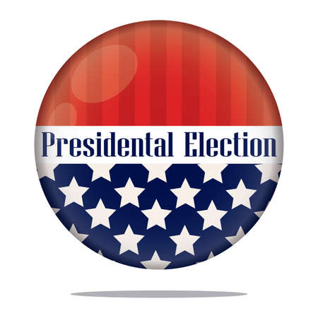 Election day in United States. Presidental election. 2020 - Vector