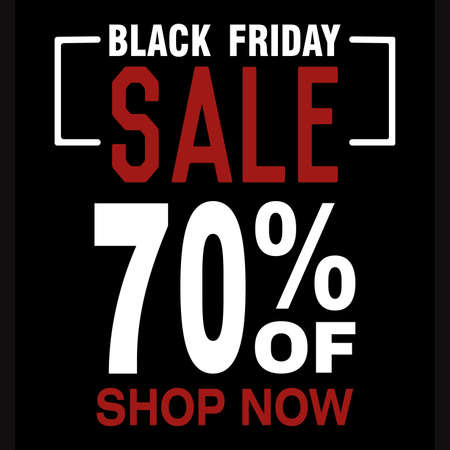 Black friday posters. Special discount and offer - Vector