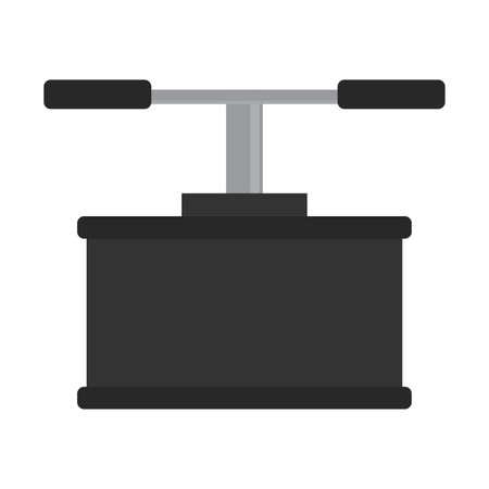 Isolated bomb button soldier gun war icon
