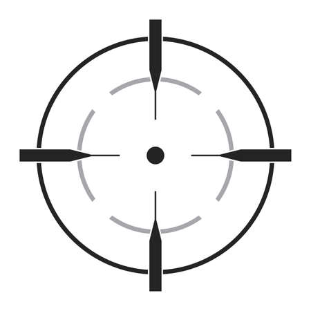 Isolated miracle accessory gun war icon
