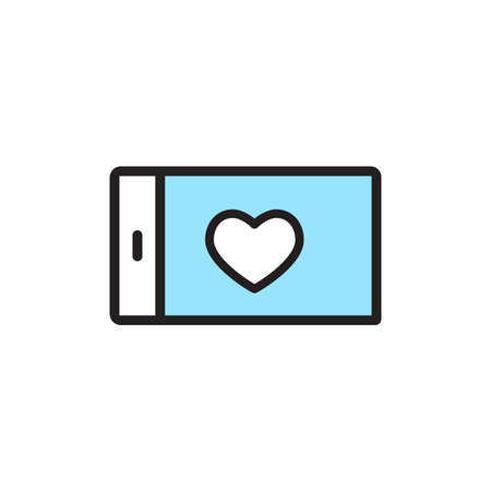 Isolated smartphone computers tecnology online icon- Vector