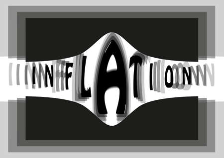 An abstract image of inflation