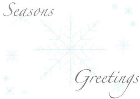 seasonal greeting: A seasonal greeting card Illustration