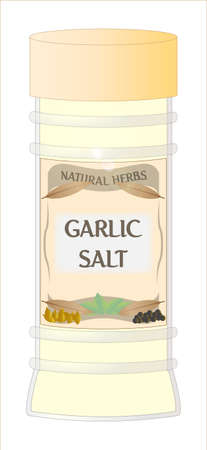 home grown: Garlic Salt Jar