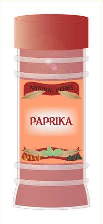 home grown: Paprika Jar
