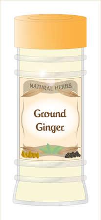 Ground Ginger Jar
