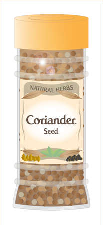 home grown: Coriander Seed Jar