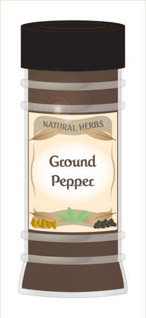 Ground Pepper Jar