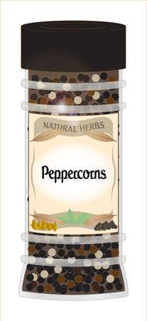 home grown: Peppercorns jar
