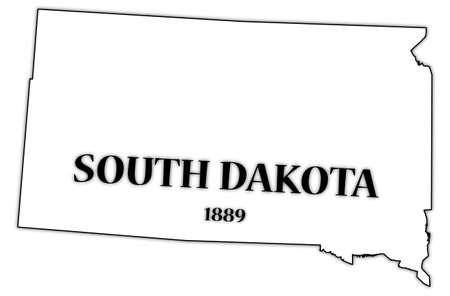 dakota: South Dakota State and Date