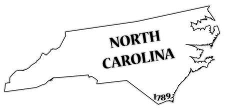 north carolina: North Carolina Illustration