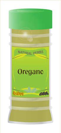 home grown: Oregano Herb Jar