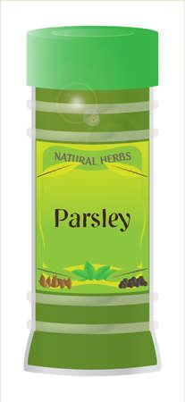 home grown: Parsley Herb Jar