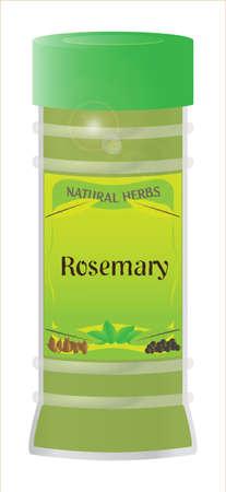 home grown: Rosemary Herb Jar