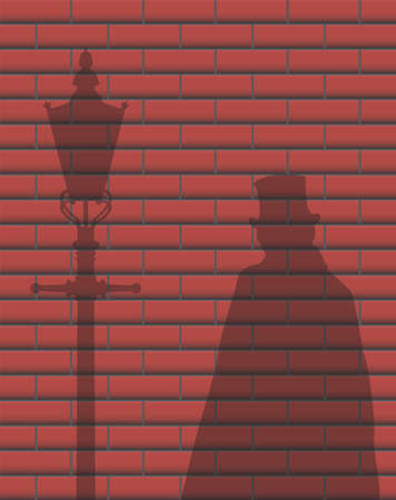 ripper: Jack The Ripper Brick Wall Shadow