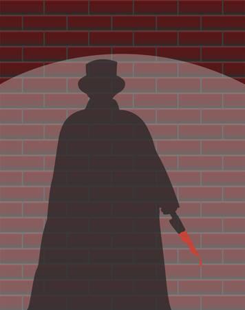 ripper: Jack The Ripper Wall Spotlight Shadow