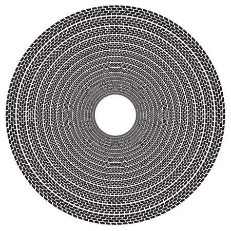 tire imprint: Treadmark Tunnel