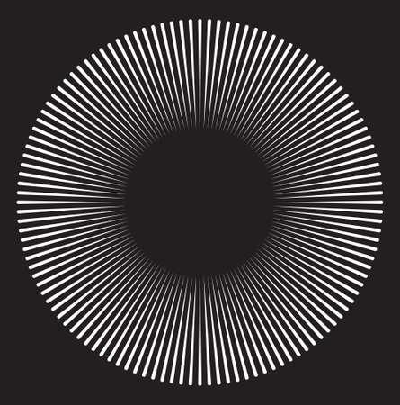 black hole: A black hole design Illustration