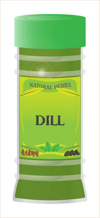 home grown: dill