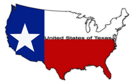 A usa dot map in red and blue isolated on a white background royalty a texas flag in the us map isolated on a white background vector publicscrutiny Choice Image