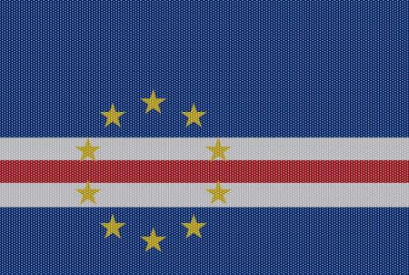 verde: A retro looking Cape Verde flag design
