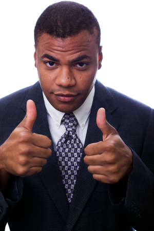 Young Business Executive Giving Thunbs Up photo