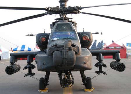 apache: Helic�pteros militares Foto de archivo