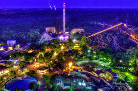 Kings Island Amusement Park Editorial