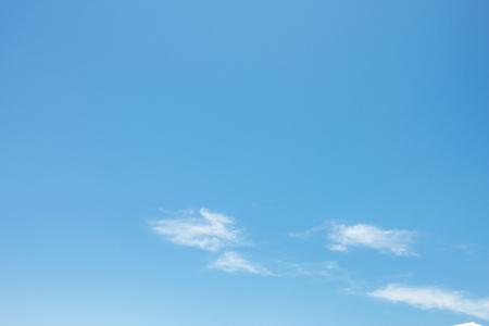 gradual nice blue sky with clouds