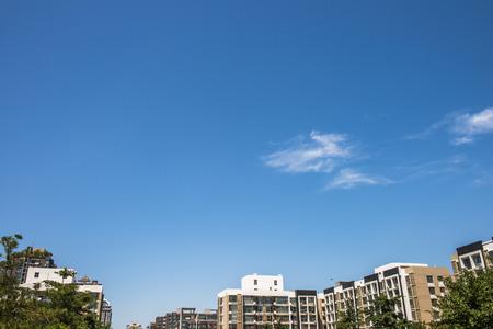 멋진 푸른 하늘에 구름 스톡 콘텐츠