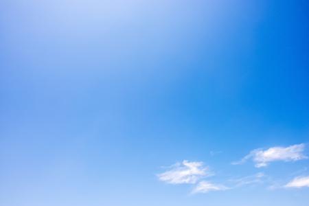 구름과 점진적 멋진 푸른 하늘 스톡 콘텐츠